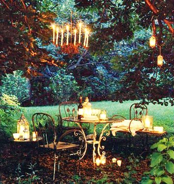 Outdoor Weddings & Chandeliers! | Ivory & Aisle